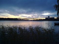 Vasterbron from Norr Malarstrand at sunset by <b>PetriH</b> ( a Panoramio image )
