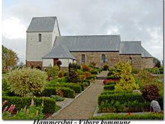 Hammersh?j kirke - Viborg kommune by <b>Claude David</b> ( a Panoramio image )