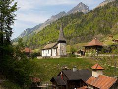 Kirche in Jaun by <b>Harri Hofer</b> ( a Panoramio image )