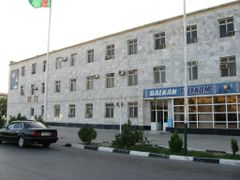 Turkmentelecom office by <b>aag201009</b> ( a Panoramio image )