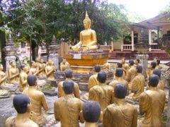 """The Sculpture of the Buddha"""" Sermon at Wat Nern Pha Naow by <b>pr8ngkiet</b> ( a Panoramio image )"""
