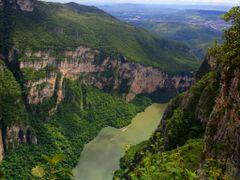 Canon del Sumidero desde Mirador by <b>RS-Camaleon</b> ( a Panoramio image )