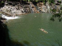 Killymoon Creek swimming hole by <b>Jan Hasselberg</b> ( a Panoramio image )