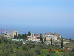 I.M. Megistis Lavras by <b>Nikiforos Papanikolaou</b> ( a Panoramio image )