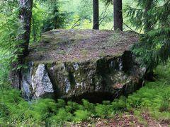 Finland, Nurmijarvi. Aleksis Kiven Hiidenkivi. Goblin stone. by <b>Ilkka T. Korhonen</b> ( a Panoramio image )