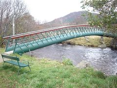 Footbridge over Clunie Water, Braemar by <b>SHoweMBOU</b> ( a Panoramio image )