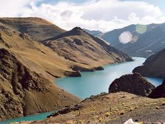 Pool in Tibet 4000 meter high by <b>John de Crom</b> ( a Panoramio image )