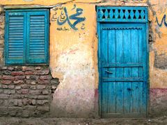 Blue door by <b>Kevinday</b> ( a Panoramio image )