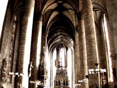 St.Bartholomew Cathedral, Pilsen, Czech Republic by <b>Jiri Dvorsky</b> ( a Panoramio image )