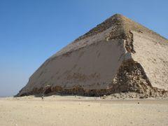Bent Pyramid of Snefru (Dahshur, Egypt) by <b>www.davidrull.com</b> ( a Panoramio image )