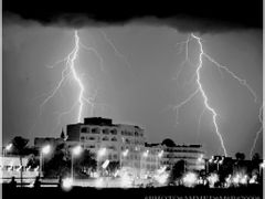 _The City of Monastir in the storm _Ahmed - 777 - 2009 by <b>Ahmed-777-</b> ( a Panoramio image )