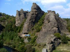 Вражји камен - поглед са стране 1 by <b>Саша Јовановић</b> ( a Panoramio image )