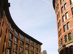 Boston Wharf, Boston, Mass., U.S.A. by <b>Michael Schmieder</b> ( a Panoramio image )