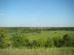 Вид на Сулу с Замковой горы by <b>santoz7</b> ( a Panoramio image )