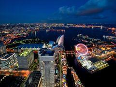 port of Yokohama by <b>coolbiere</b> ( a Panoramio image )
