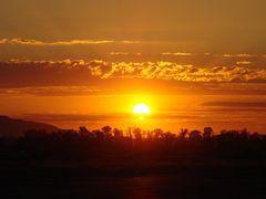 Аэропорт &quot;Аулие-Ата&quot;,закат. by <b>Rashid Sultanguzin</b> ( a Panoramio image )