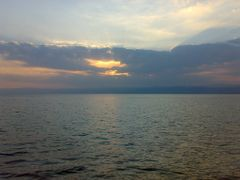 Winter sunset over the Dead Sea by <b>Dr.Azzouqa</b> ( a Panoramio image )