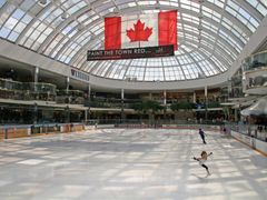 Ice rink, W. E. Mall by <b>longdistancer</b> ( a Panoramio image )