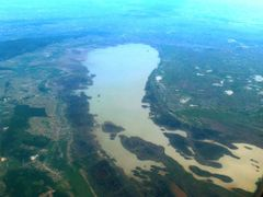 View of the lake Ferto, Austria/Hungary by <b>Peter Kesselyak</b> ( a Panoramio image )