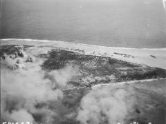 Strike on Engebi 2-11-1944 by <b>cmarks175</b> ( a Panoramio image )