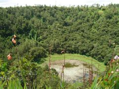 Trou aux Cerfs Volcano crater, Curepipe, Mauritius by <b>mcmurali</b> ( a Panoramio image )