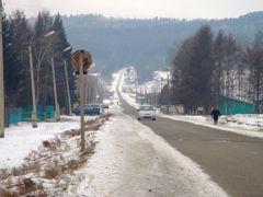 Красный Чикой в феврале by <b>Ewgеny</b> ( a Panoramio image )