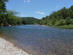 Johnson Shut-Ins State Park (pre-flood) by <b>Brad Bergstrom</b> ( a Panoramio image )