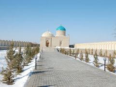 "15 Seyyid Emir Gilal """"kuddise sirruh"""" Buhara, Ozbekistan by <b>Muammer Osmanc?kl?</b> ( a Panoramio image )"