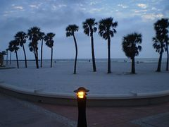 Beach at dusk, Clearwater Beach, Florida by <b>Tomros</b> ( a Panoramio image )