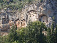 Dalyan , Rock Monastery by <b>kukla_s_bukla</b> ( a Panoramio image )
