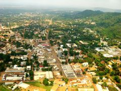 Aerial photo of Bangui by <b>Playar</b> ( a Panoramio image )