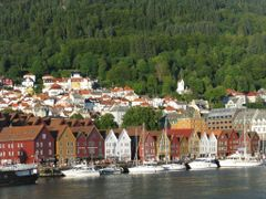 Bryggen II, Bergen, Norway by <b>Jan Sognnes SAVE PANORAMIO</b> ( a Panoramio image )