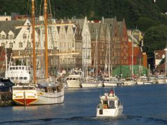 """""""Norway in a Nutshell"""" - Bryggen I, Bergen, Norway  by <b>Jan Sognnes SAVE PANORAMIO</b> ( a Panoramio image )"""