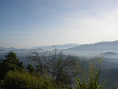 View towards Kandy & Peradeniya from Ambuluwawa mountain. by <b>jmsbandara</b> ( a Panoramio image )