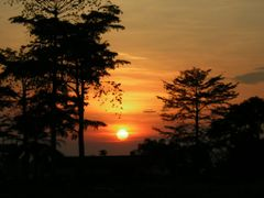 Sunset in Bangui by <b>Playar</b> ( a Panoramio image )