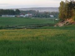 June evening fields near stable at Zagorie by <b>Koni.BY</b> ( a Panoramio image )