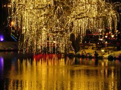 """Golden Fire"" - Nightlights in Tivoli, Copenhagen, Denmark by <b>Jan Sognnes</b> ( a Panoramio image )"