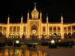 """Fairy Tale"" - Nightlights in Tivoli, Copenhagen, Denmark by <b>Jan Sognnes</b> ( a Panoramio image )"