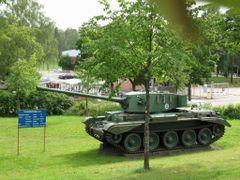 British tank Charioteer CT by <b>Elena Zakamaldina</b> ( a Panoramio image )