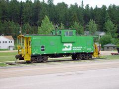 Custer train 19-6-2004 by <b>Bas van Oorschot</b> ( a Panoramio image )