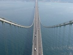 Akashi Kaikyo Bridge (Pearl Bridge) by <b>S_Mori</b> ( a Panoramio image )