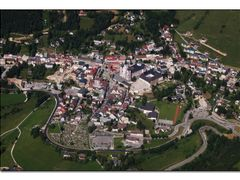 Mariazell  ( Aerial Overview) 6/2007 by <b>AustrianAviationArt</b> ( a Panoramio image )