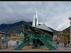 Andorra - Caldea by <b>Josep Maria Alegre</b> ( a Panoramio image )