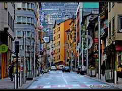 Andorra - Les Escaldes, Avinguda Carlemany by <b>Josep Maria Alegre</b> ( a Panoramio image )