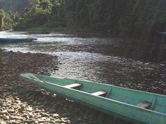 Sungai Melinau nearby Batu Bungan by <b>Wakx</b> ( a Panoramio image )