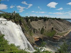 Chutes Montmorency by <b>manuamador</b> ( a Panoramio image )