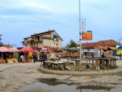 Novo Selo kod Nisa, pijaca i autobuska stanica ujedno by <b>dragansremac</b> ( a Panoramio image )