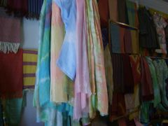 Silks at the Yodgorlik factory, Marghilan by <b>gswatson</b> ( a Panoramio image )