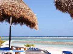 Playa de Majahual Quintana Roo By Mel Figueroa by <b>Mel Figueroa</b> ( a Panoramio image )