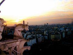 Gargoyles of the Notre Dame, Paris, France by <b>MICHAEL  JIROCH  &  www.michaeljiroch.com</b> ( a Panoramio image )